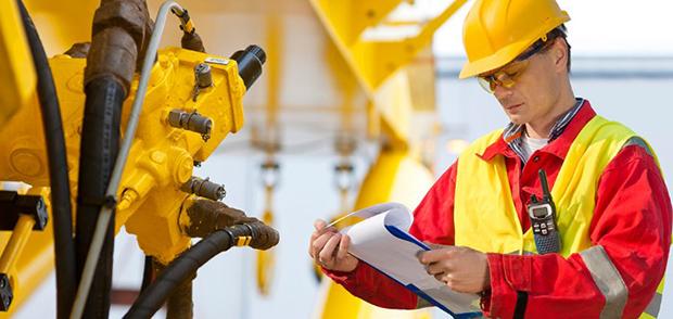 Обследование производственных механизмов на предмет наличия дефектов и неисправностей